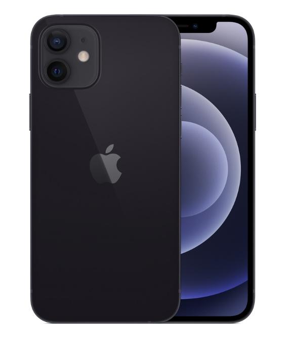Чёрный iPhone 12