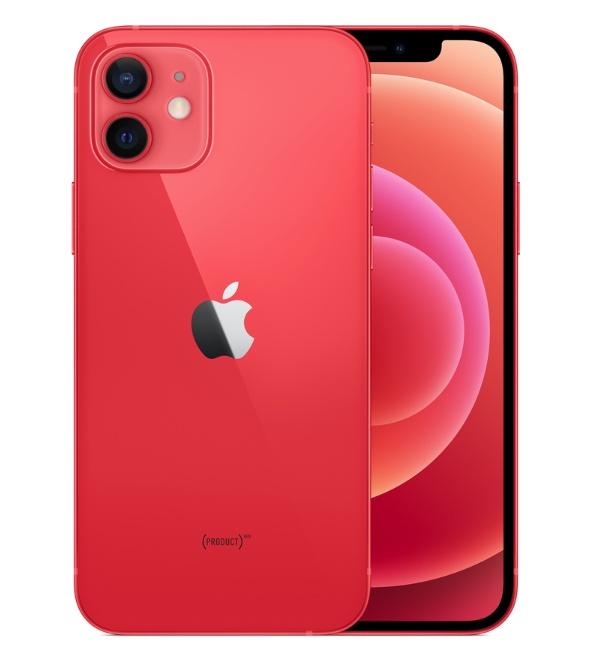 Красный iPhone 12