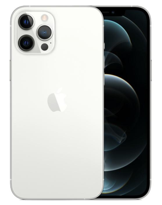 Серебристый iPhone 12 Pro Max