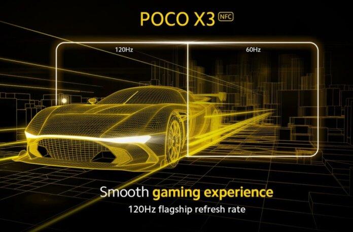 120 герц на Poco X3 NFC