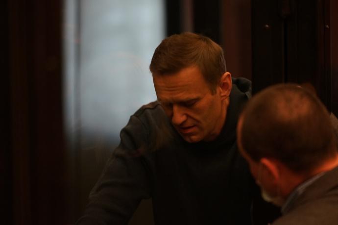 Навальный в суде 2 февраля 2021 года