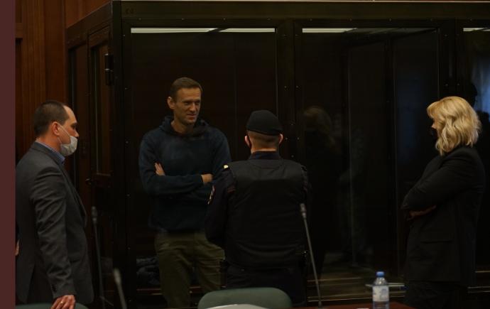Навальный в аквариуме