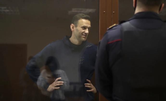 Алексей Навальный. Фото: пресс-служба Бабушкинского районного суда